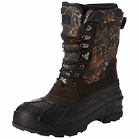 Best Cold Weather Hunting Boots Kamik Men's Nation Camo Hunting Boot