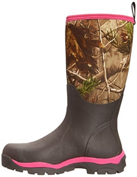 Women's woody max pink muck boots